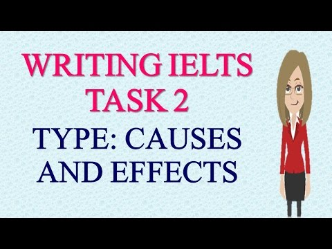 IELTS Academic Writing Task 2 Type CAUSES and EFFECTS- IELTS Academic Writing