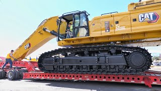 Moving the Big Cat 395 from Conexpo 2020