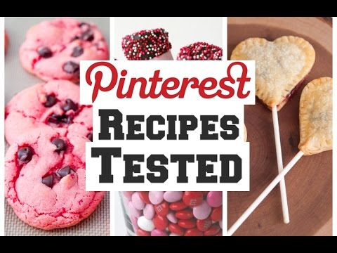 Valentine's Day Pinterest Recipes TESTED!!