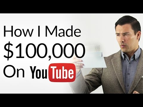 How I Made My FIRST $100,000 on YouTube | Make Money As A YouTuber | Youtube Profit Breakout