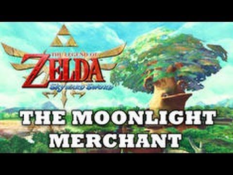 Zelda: Skyward Sword - Moonlight Merchant (Rare Treasure Shop)