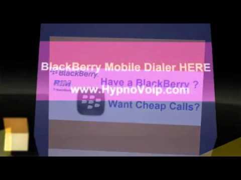 HypnoVoip BlackBerry voip mobile dialer BlackBerry SIP Client