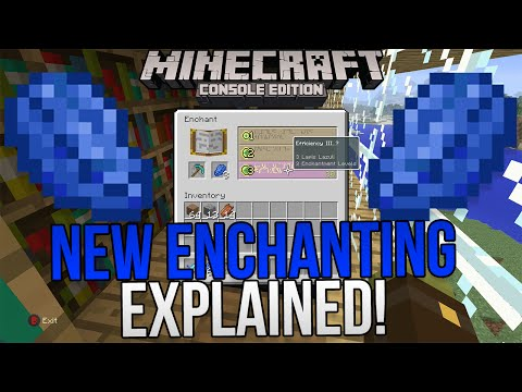 Minecraft Xbox & Playstation: New Title Update 31 Enchanting Guide! | TU31 Full Tutorial