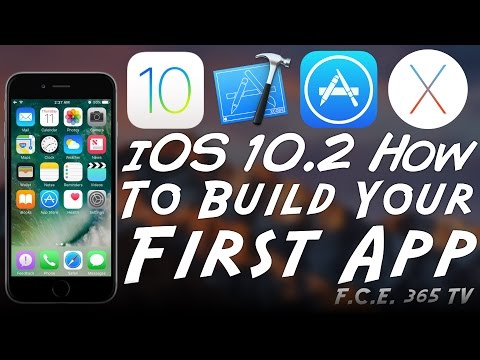 iOS 10.3.3 - Xcode - How to Build Your First iOS App (Beginners)