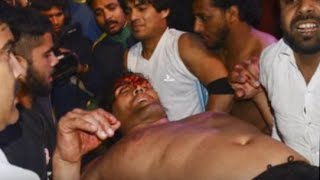 WWE: The Great Khali almost dies chair shots February 26, 2016