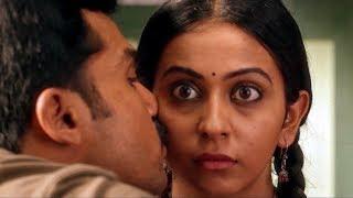 Theeran Love Scene Karthi & Rakul Preet Singh | South Indian Hindi Dubbed Best Love Scene