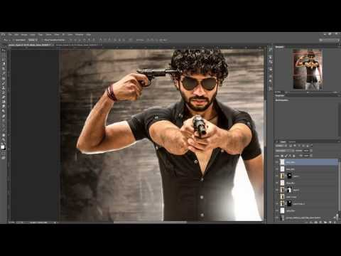 Making Of Kaidhi 3rd Poster In Photoshop CC