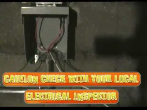 Electrical circuit for a camper or motorhome 30 amp / DIY