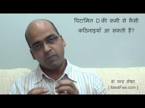Vitamin D - Importance | Symptoms | Causes | Health Risks (in Hindi)