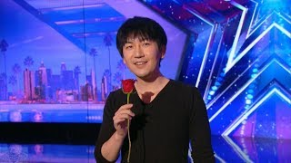 Americas Got Talent 2017 Visualist Will Tsai Unbelievable Sleight Of Hand Full Audition S12e01