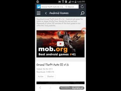 HOW TO DOWNLOAD GTA III ON ANDROID (NO SURVEY)
