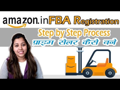 Amazon India FBA Seller Registration | Steps by Step Amazon India fba enrollment tutorial in Hindi