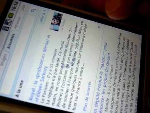 HTC Magic (SFR 32B) ROM Android Cyanogen 6 (Froyo)
