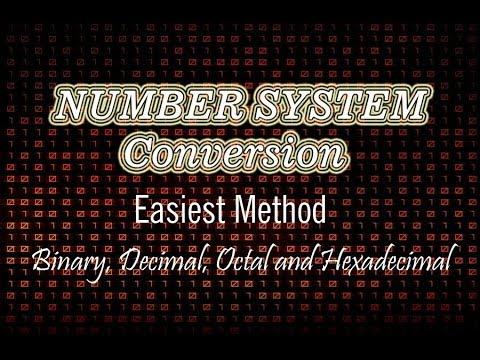 Number System Conversion : Easiest Methods