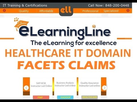 Facets Training curriculum by ELearningLine @848-200-0448