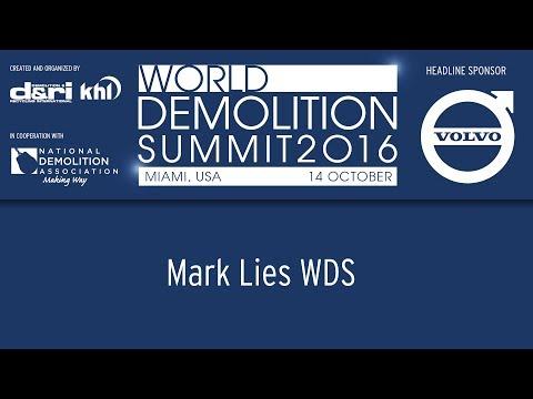 World Demolition Summit 2016 – Mark Lies