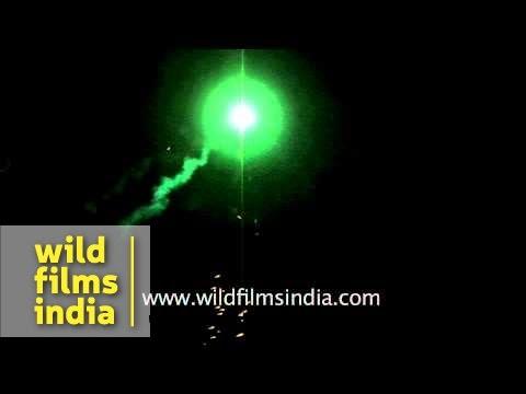 Fireworks display at Surajgarh Haveli on occasion of Diwali