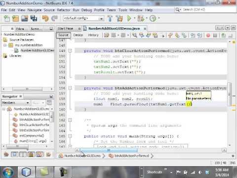 CIS2087: Unit 8 - NetBeans GUI Tutorial, Part 2