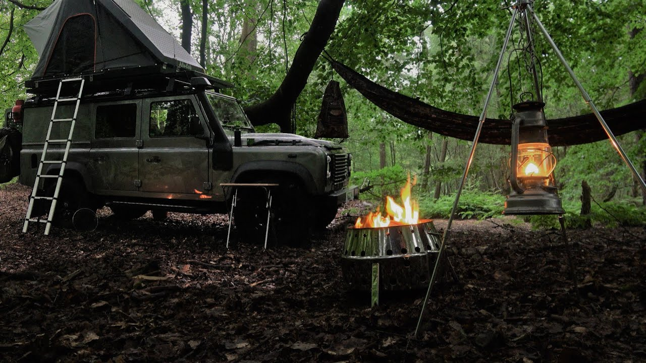 Overnight Solo Roof Top Tent 4x4 Camping
