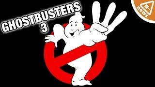New Ghostbusters 3 Details Revealed! (Nerdist News w/ Jessica Chobot)