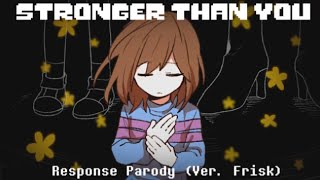 Undertalestronger Than You Response Ver Frisk  Animation