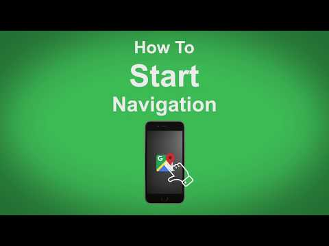 Google Maps   How To Start Navigation