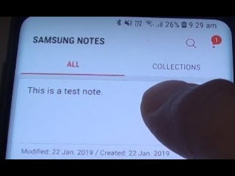 Samsung Galaxy S9: How to Insert Samsung Notes Into a Text Message