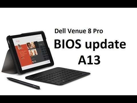 Dell Venue 8 pro BIOS A13 update