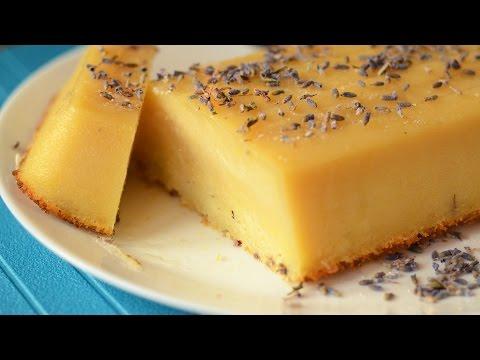 Lavender Lemon Pudding Cake – Video recipe