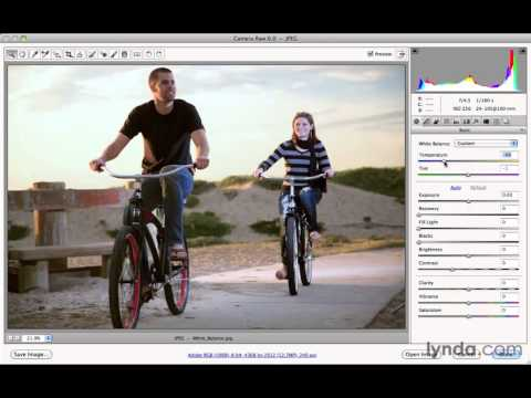 Photoshop CS5 Tutorials-7 Fixing Common Problems Quickly with Camera Raw 4.White Balance