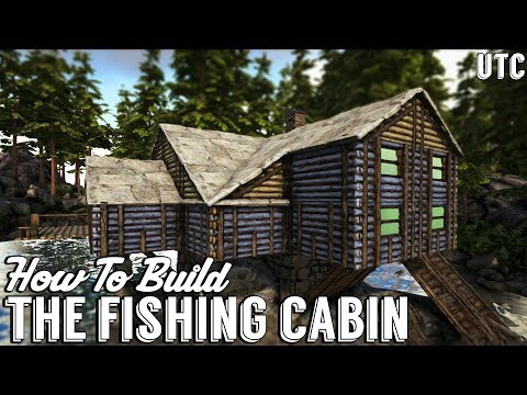 Ragnarok Fishing Cabin :: Ark Building Tutorial (No Mods) :: How To Build A Beach House