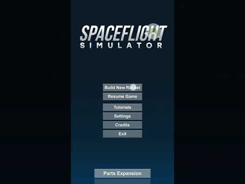 How to launch a satellite in Spaceflight Simulator tutorial