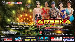 Download Live Streaming Campursari ARSEKA MUSIC / DEWA - DEWI AUDIO / HVS SRAGEN CREW 1 LIVE MACANMATI Video