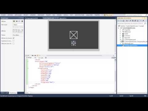 Splash Screen ProgressRing control Windows 8/8.1