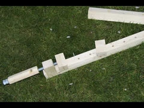 How To Make Shop Built Wooden Clamps