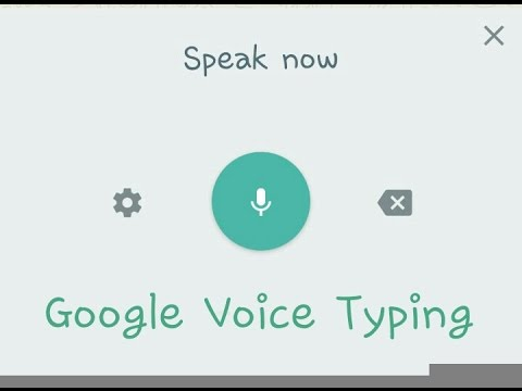 Voice to Text (offline Google voice typing)