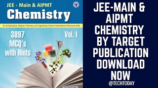 JEE-Main & AIPMT Chemistry Book HQ PDF | Download Now