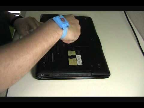 How to remove the CD/DVD Drive on an HP Pavilion DV6000 Laptop.