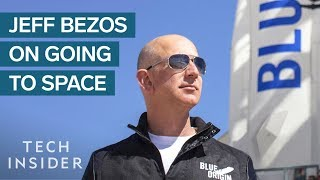 Download Jeff Bezos Reveals Why He's Spending Billions Of Dollars To Go To Space Video