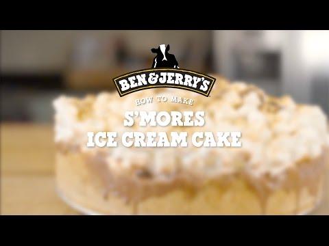 S'mores Ice Cream Cake  |  Ben & Jerry's
