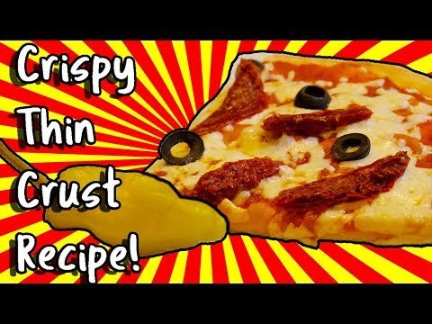 Better than delivery? Boneless crispy thin crust pizza recipe! 30 minutes or less