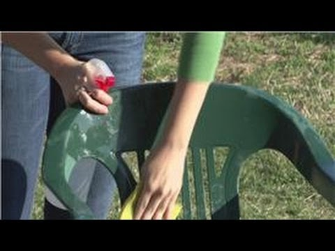 Housekeeping Tips : How to Clean Mold Off of Resin Chairs
