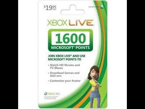 Changing My Gamertag On Xbox Live With 1600 Microsoft Points