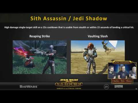 SWTOR 5.0 All New Class Abilities Animations