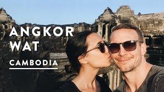 ANGKOR WAT TEMPLES IN SIEM REAP   Cambodia Travel Vlog 016, 2017