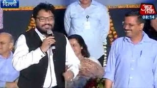 Exclusive:  Babul Supriyo Sings