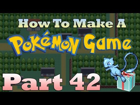 How To Make a Pokemon Game in RPG Maker - Part 42: Mystery Gift