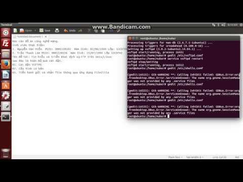 Cài đặt FTP Server trên Ubuntu 14.04