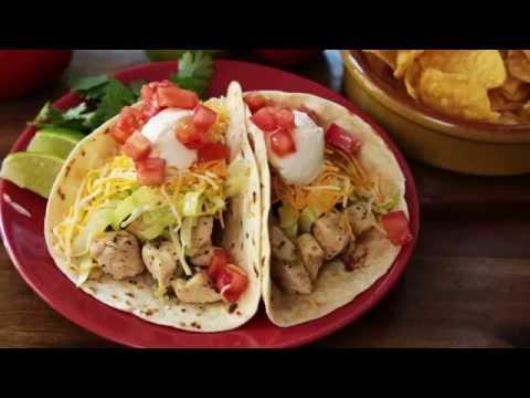 How to Make Chicken Soft Tacos   Chicken Recipes   Allrecipes.com