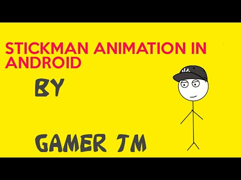 How to make stickman animation in android